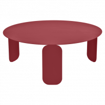 TABLE BASSE BEBOP, D.80, Piment de FERMOB