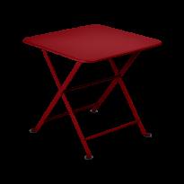 TABLE BASSE ENFANT TOM POUCE 50X50 CM, 24 couleurs de FERMOB