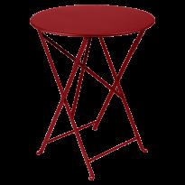 TABLE PLIANTE BISTRO 60CM, 23 couleurs de FERMOB