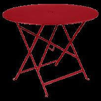 TABLE PLIANTE BISTRO 96CM COQUELICOT de FERMOB