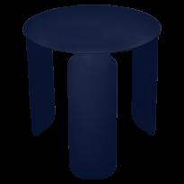 TABLE BASSE BEBOP, D.45, Bleu abysse de FERMOB