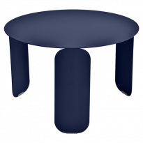 TABLE BASSE BEBOP, D.60, Bleu abysse de FERMOB