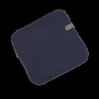 GALETTE COLOR MIX 41X38 CM, Bleu nuit de FERMOB