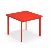 TABLE CARRÉE 90x90 STAR, 7 coloris de EMU