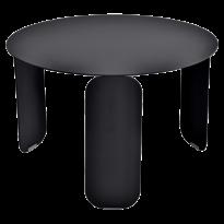 TABLE BASSE BEBOP, D.60, Réglisse de FERMOB