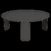 TABLE BASSE BEBOP, D.80, Réglisse de FERMOB