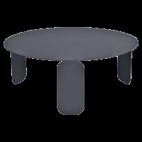 TABLE BASSE BEBOP, D.65, Carbone de FERMOB