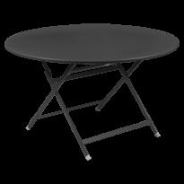 TABLE RONDE CARACTÈRE, Carbone de FERMOB