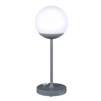 Lampe MOOON! de Fermob, H.41 cm, Gris Orage