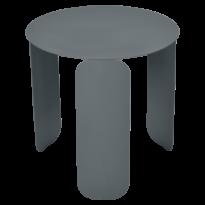 TABLE BASSE BEBOP, D.45, Gris orage de FERMOB