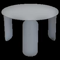 TABLE BASSE BEBOP, D.60, Gris orage de FERMOB