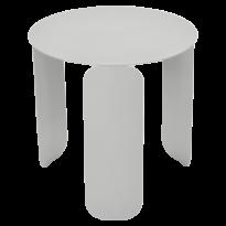TABLE BASSE BEBOP, D.45, Gris métal de FERMOB