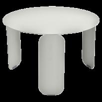 TABLE BASSE BEBOP, D.60, Gris métal de FERMOB