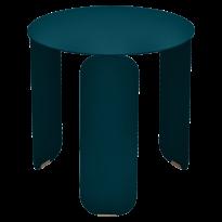 TABLE BASSE BEBOP, D.45, Bleu acapulco de FERMOB