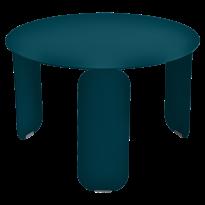 TABLE BASSE BEBOP, D.60, Bleu acapulco de FERMOB