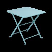 TABLE BASSE ENFANT TOM POUCE, 50 x 50, Bleu lagune de FERMOB