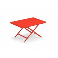 TABLE BASSE ARC EN CIEL, Rouge écarlate de EMU