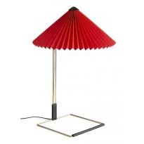LAMPE DE TABLE MATIN, L, Bright red de HAY