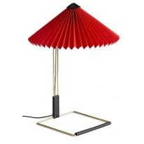 LAMPE DE TABLE MATIN, S, Bright red de HAY