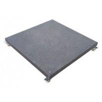Socle compatible avec parasol Dominik et Alberto de Collection Cèdre Rouge, Granit gris foncé