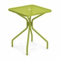 TABLE CARRÉE CAMBI, 60 X 60 cm, Vert foncé de EMU
