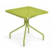 TABLE CARRÉE CAMBI, 80 x 80 cm, Vert de EMU