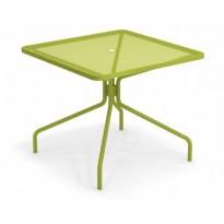 TABLE CARRÉE CAMBI, 90 X 90 cm, Vert de EMU
