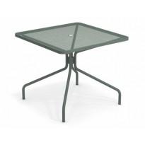TABLE CARRÉE CAMBI, 90 X 90 cm, Vert foncé de EMU