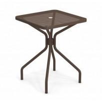 TABLE CARRÉE CAMBI, 60 X 60 cm, Marron d