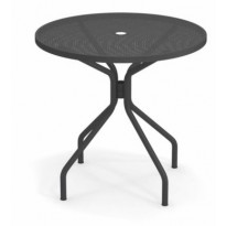 TABLE RONDE CAMBI, Ø 80 cm, Fer ancien de EMU