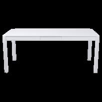 Table à allonges RIBAMBELLE de Fermob, 1 allonge, Blanc coton