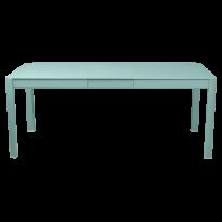Table à allonges RIBAMBELLE de Fermob, 1 allonge, Bleu lagune