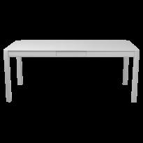 Table à allonges RIBAMBELLE de Fermob, 1 allonge, Gris métal
