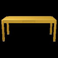 Table à allonges RIBAMBELLE de Fermob, 1 allonge, Miel