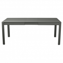 Table à allonges RIBAMBELLE de Fermob, 1 allonge, Romarin