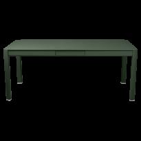 Table à allonges RIBAMBELLE de Fermob, 1 allonge, Vert cèdre