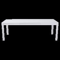 Table à allonges RIBAMBELLE de Fermob, 2 allonges, Blanc coton