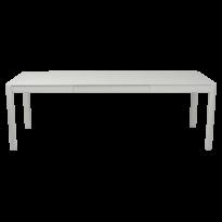 Table à allonges RIBAMBELLE de Fermob, 2 allonges, Gris métal