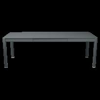 Table à allonges RIBAMBELLE de Fermob, 2 allonges, Gris orage