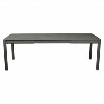 Table à allonges RIBAMBELLE de Fermob, 2 allonges, Romarin