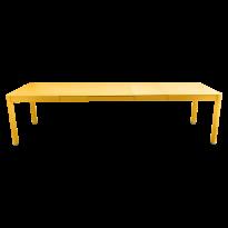 Table à allonges RIBAMBELLE de Fermob, 3 allonges, Miel