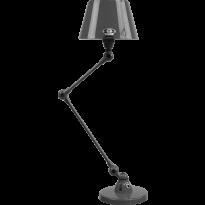LAMPE A POSER AICLER AID373 DE JIELDÉ, NOIR MARTELÉ