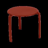 TABLE BASSE ALIZÉ, Ocre rouge de FERMOB
