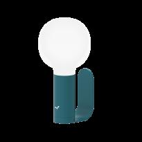 SUPPORT / APLLIQUE MURALE POUR LAMPE APLO, Bleu acapulco de FERMOB
