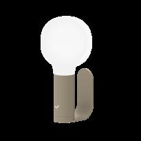Support / applique murale pour lampe APLO de Fermob, Muscade