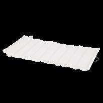 COUSSIN FAUTEUIL BAS LUXEMBOURG, Blanc coton de FERMOB