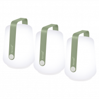 LOT DE 3 LAMPES H12 CM BALAD, Cactus de FERMOB