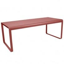 TABLE BELLEVIE, 196 x 90, Piment de FERMOB