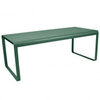 TABLE BELLEVIE, 196 x 90, Vert cèdre de FERMOB