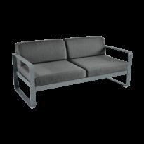 Canapé BELLEVIE de Fermob, coussin gris graphite, Gris orage